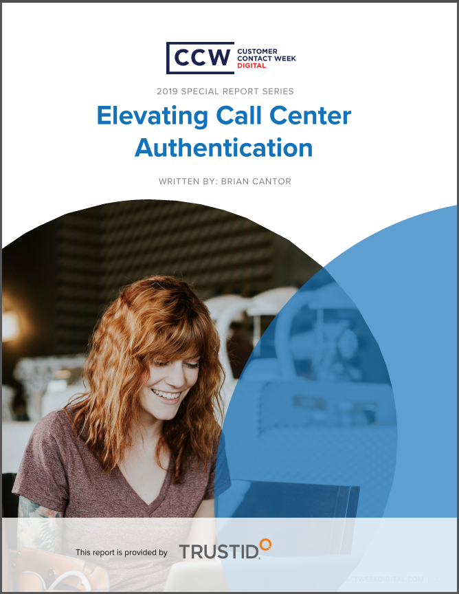SPEX - Special Report: Elevating Call Center Authentication