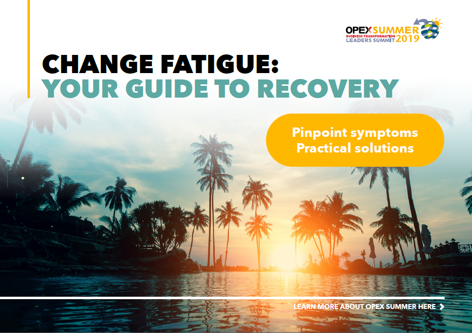 Change Fatigue, Your Guide To Recovery