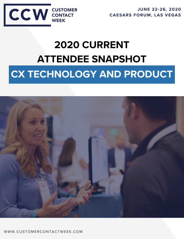 2020 Technology And Products Attendee Snapshot | CCW Vegas