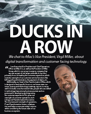 Ducks in a ROW: Exclusive interview with Aflac's Executive Vice President, Chief Operations Officer