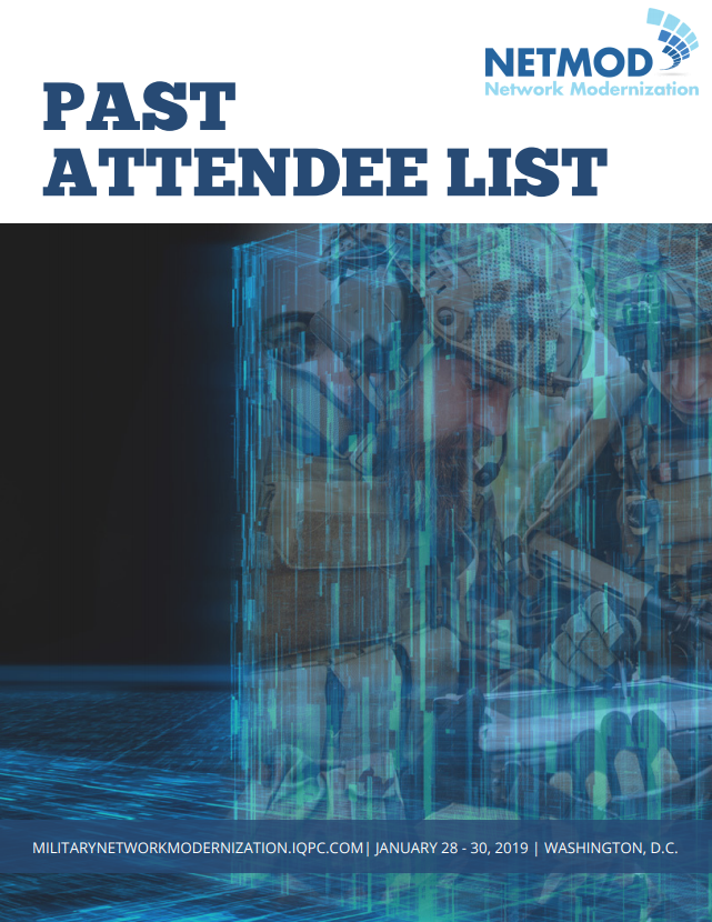 Network Modernization - Past Attendee List