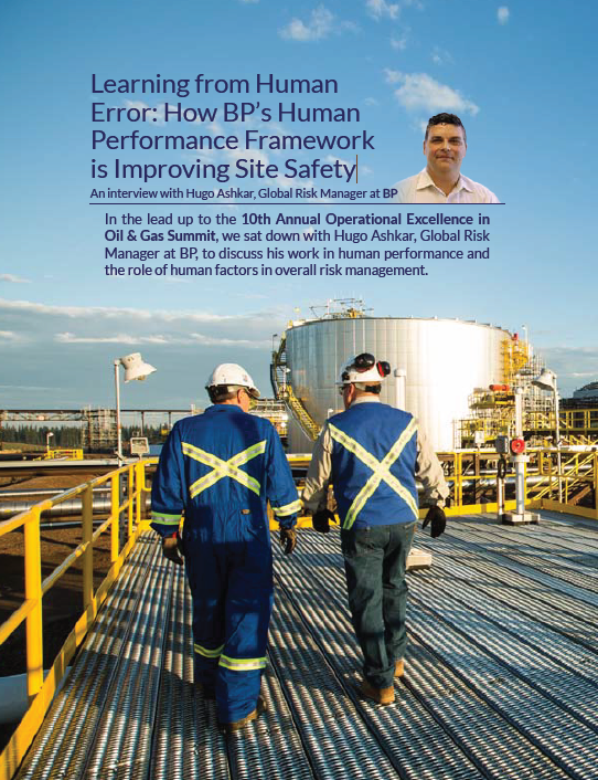 Learning from Human Error: How BP's Human Performance Framework is Improving Site Safety