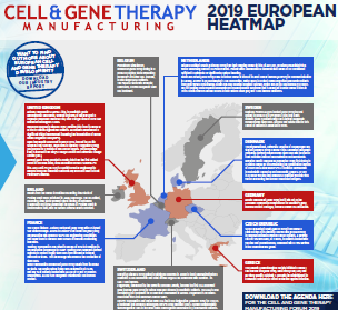 Cell and Gene Therapy: European Heatmap 2019: