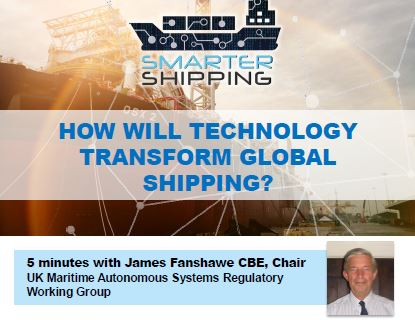 How will technology transform global shipping?