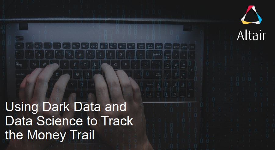 Using Dark Data and Data Science to Track the Money Trail