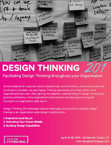 2019 Design Thinking 201