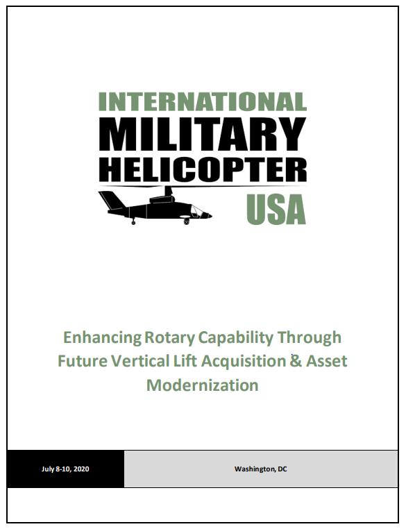 International Military Helicopter USA 2020 Preliminary Agenda