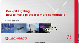 Leonardo Case Study on Aircraft Cockpit Lighting