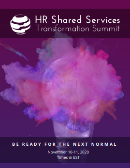 2020 Event Guide: 27th HR Shared Services Transformation Summit