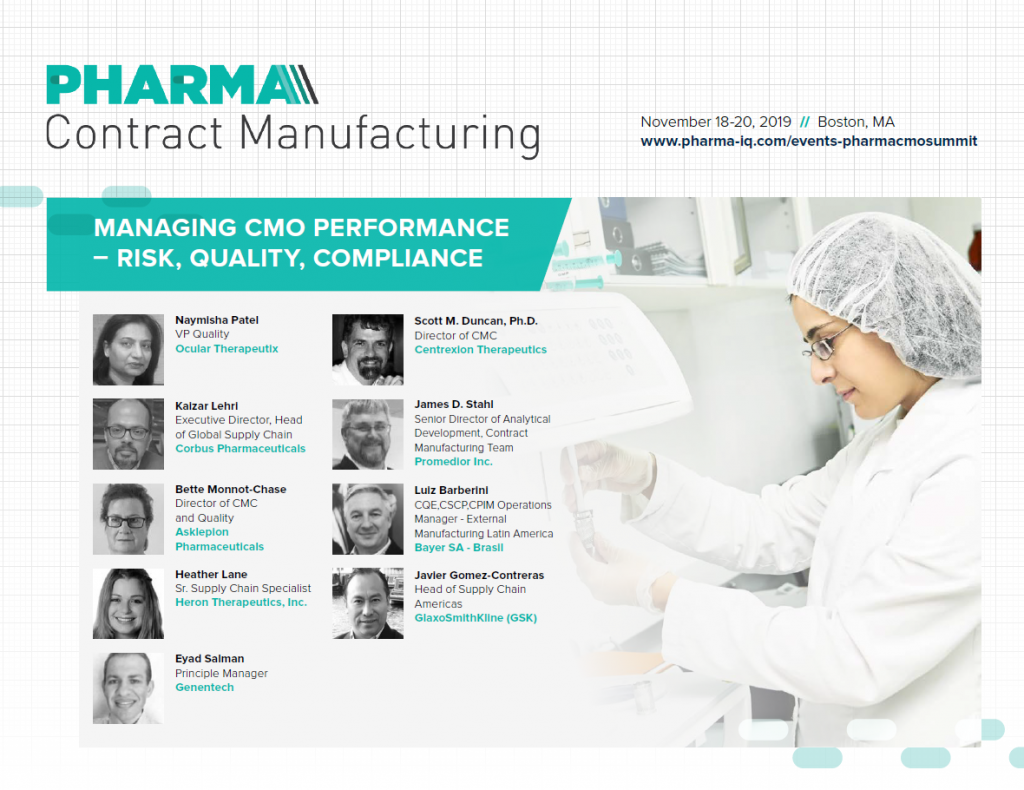 Pharma Contract Manufacturing Summit Event Guide
