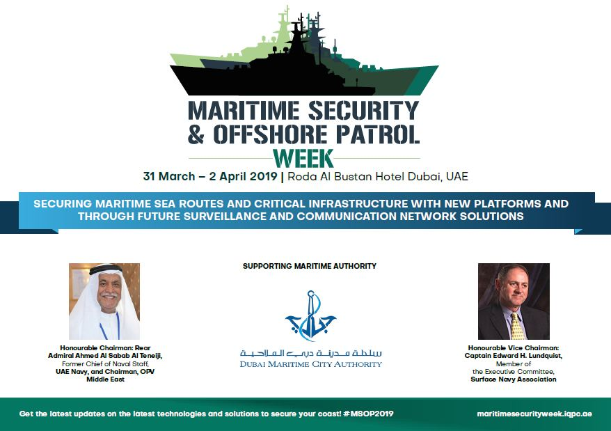 Maritime Security & Offshore Patrol Week Agenda