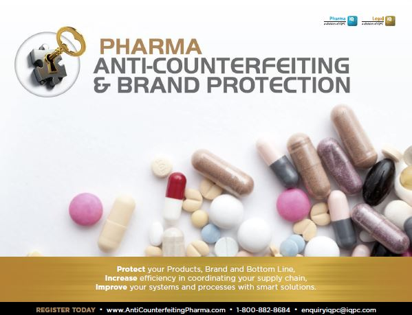 Pharma Anti-Counterfeiting & Brand Protection Official Event Packet