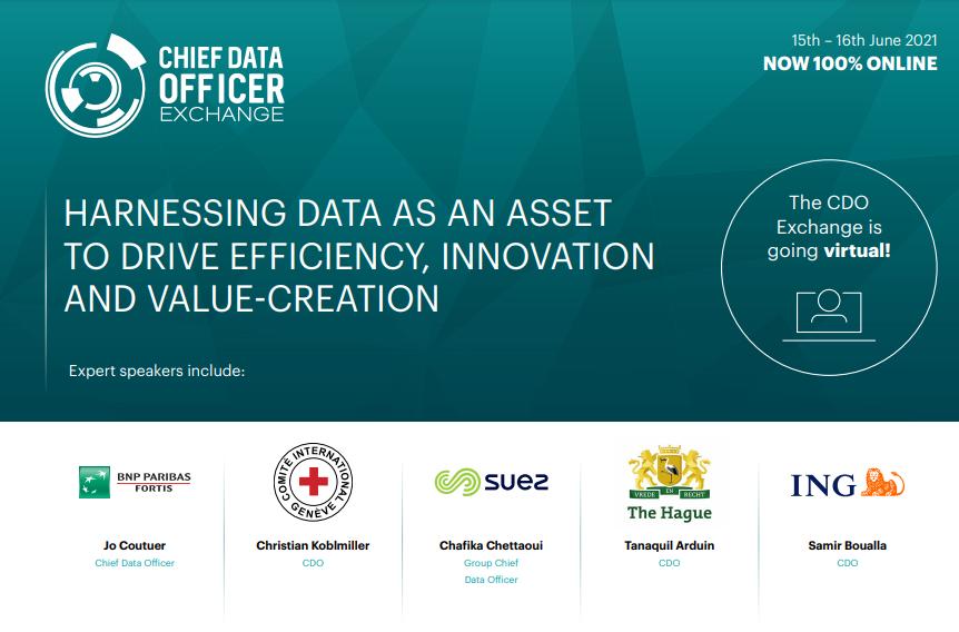 2021 Virtual Agenda: Chief Data Officer Exchange Europe