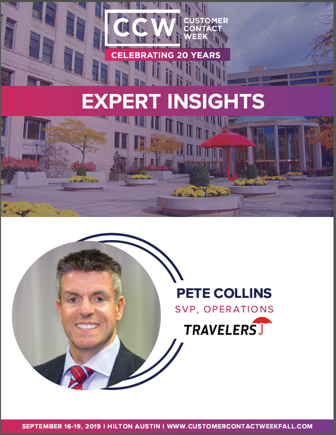 Expert Insights: Pete Collins - SVP, Operations at Travelers Insurance
