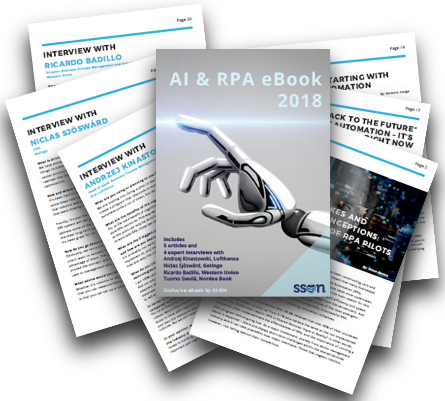 AI and RPA eBook by SSON