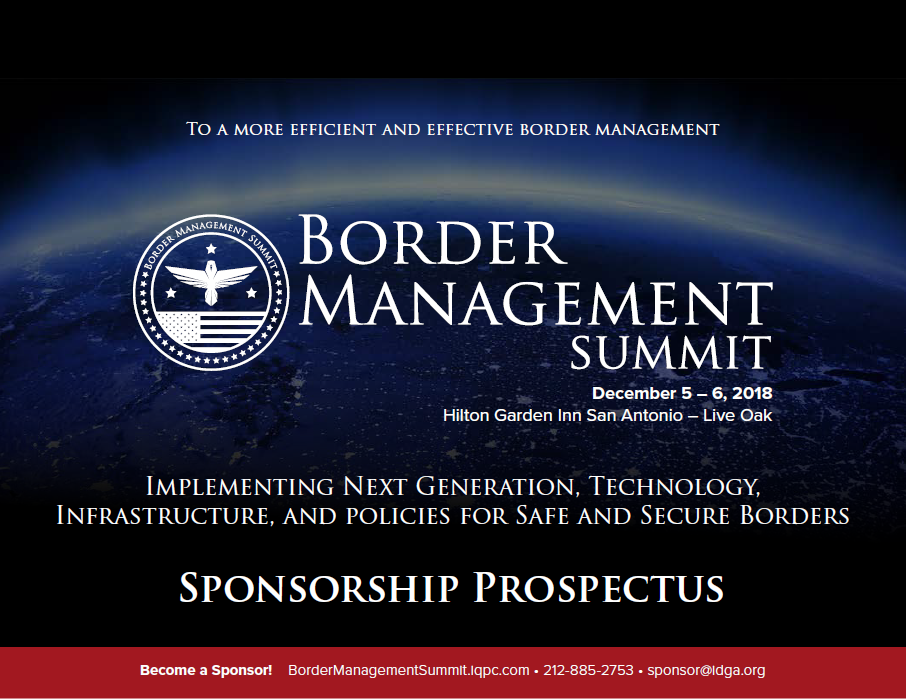 2019 Border Management Solution Providers Guide