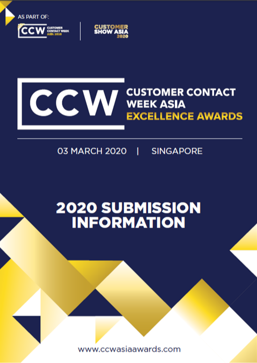 CCW Asia 2020 Awards Brochure