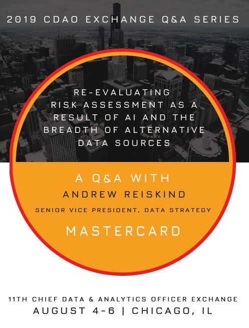 Q&A with Mastercard's Senior Vice President of Data Strategy, Andrew Reiskind!