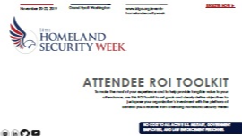 Homeland Security Week: 2019 ROI Toolkit