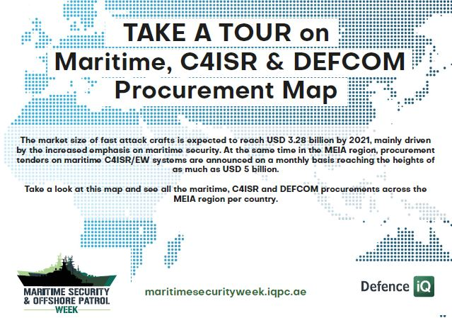 Maritime, C4ISR & DEFCOM Procurement Map