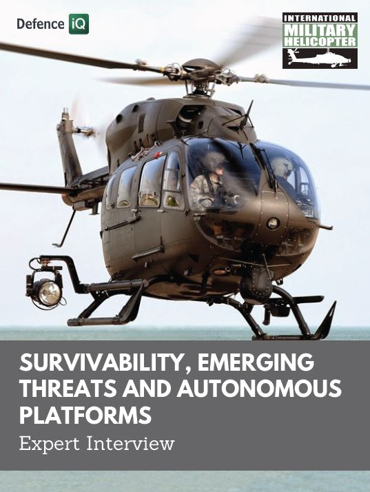 Expert Interview: Survivability, emerging threats and autonomous platforms