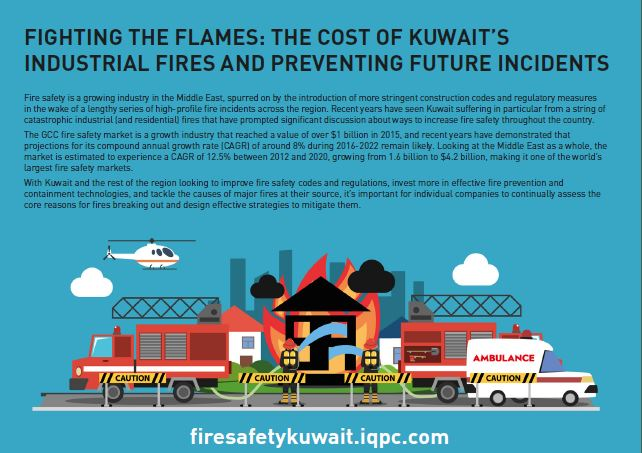 Fighting the flames: The cost of Kuwait's industrial fires and preventing future incidents
