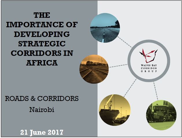 The importance of developing strategic corridors in Africa by Johny Smith