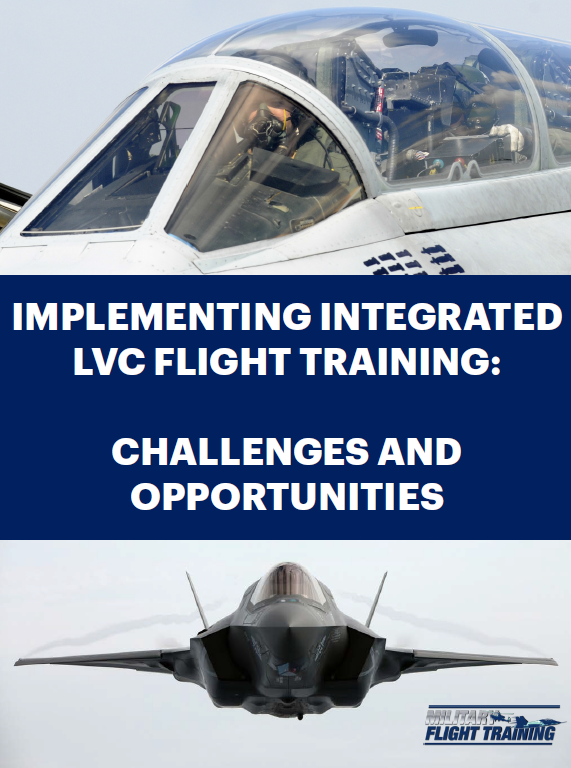Implementing integrated LVC flight training: Challenges and opportunities