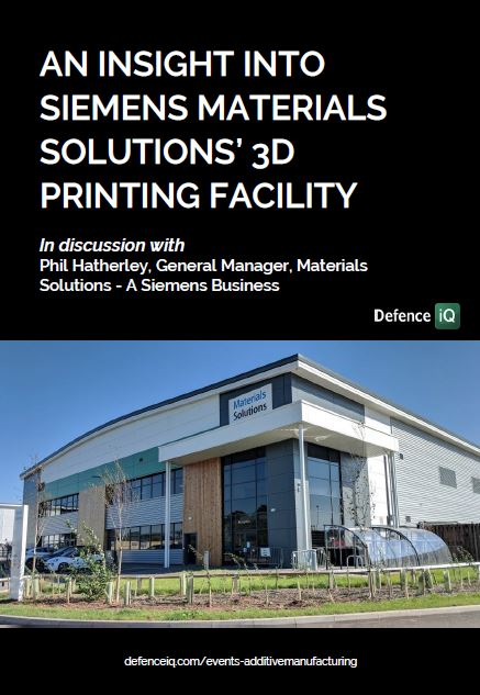 An insight into Siemens Materials Solutions' 3D Printing Facility
