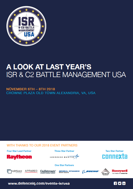 A look at last year's ISR & C2 Battle Management USA conference
