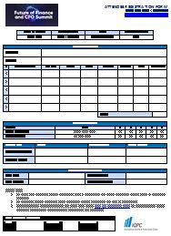 Delegate Registration Form