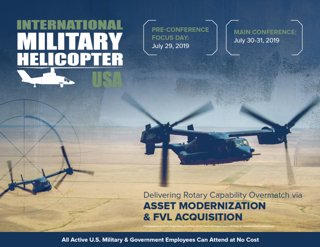 International Military Helicopter USA Agenda