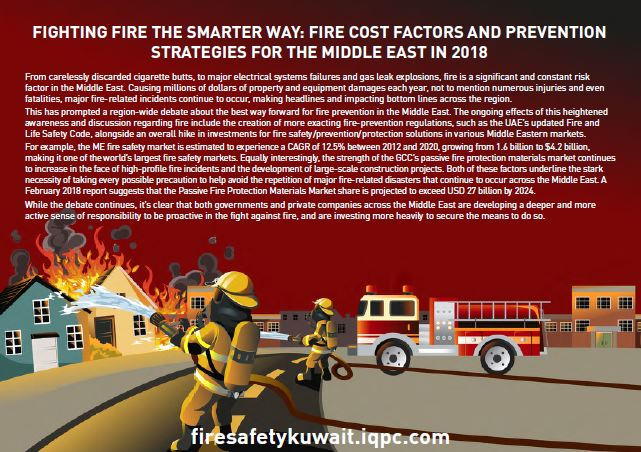 Fighting fire the smarter way: Fire cost factors and prevention strategies for the Middle East in 2018