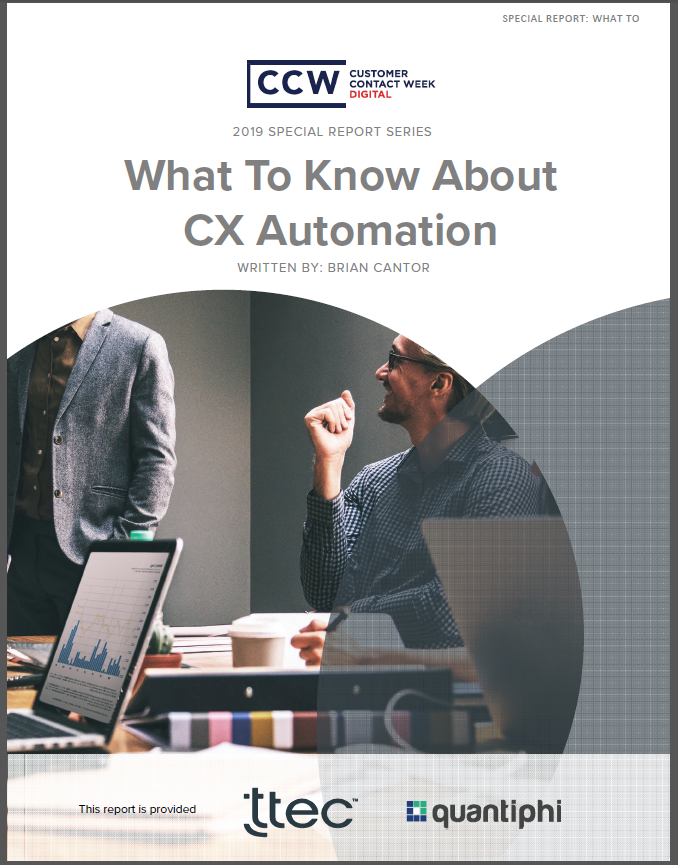 Special Report: What To Know About CX Automation