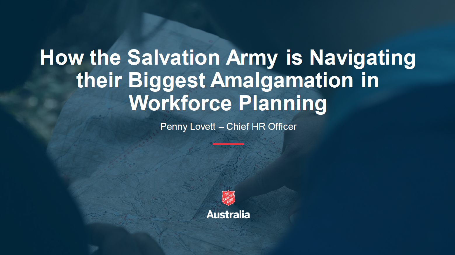 How The Salvation Army is Navigating their Biggest Amalgamation Through Re-Evaluating their Workforce Planning Strategy