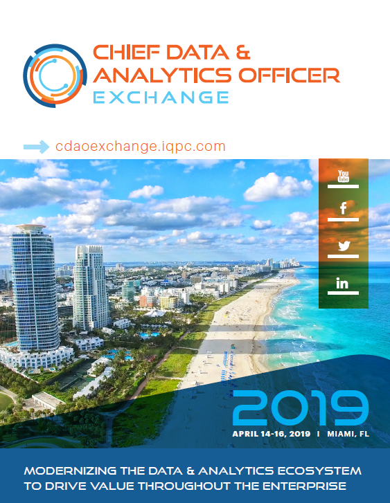 Get the latest! Download the 2019 CDAO agenda for info on speakers, sessions, and more!