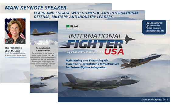 International Fighter USA Sponsorship Agenda