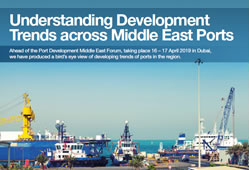 Understanding Development Trends across Middle East Ports
