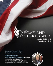 Homeland Security Week Exclusive Interview with Emily Keplar
