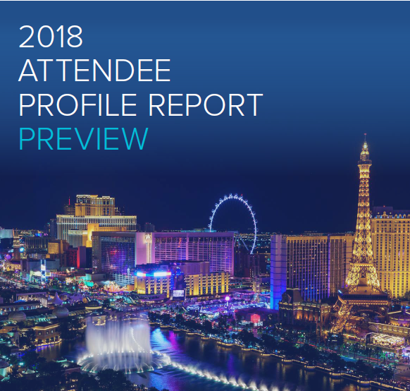 2018 Attendee Profile Report Preview