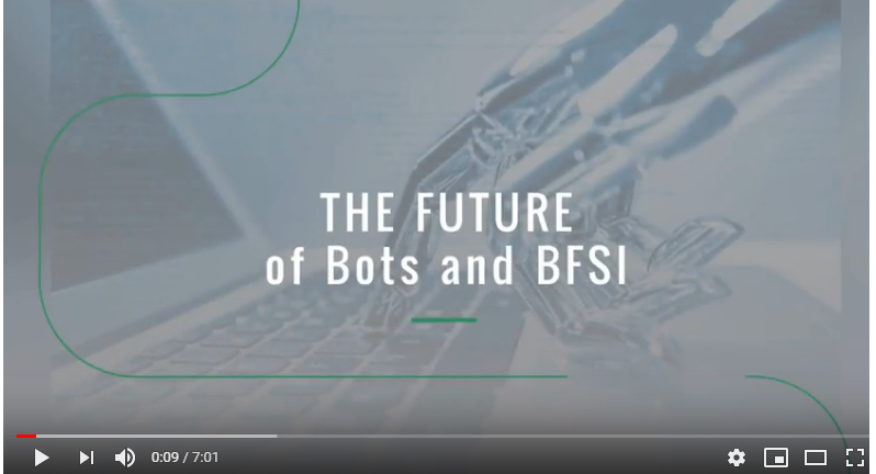 The Future of Bots and BFSI