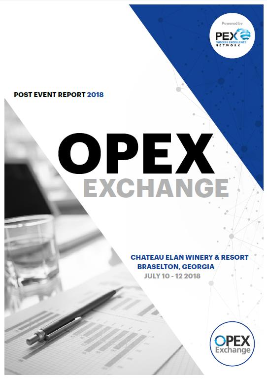 OPEX Exchange July 2019 - Post-Event Report