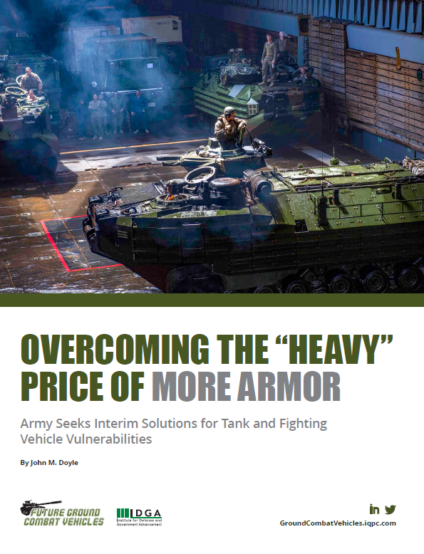 "Overcoming the ""Heavy"" Price of More Armor: Interim Solutions for Tank and Fighting Vehicle Vulnerabilities"