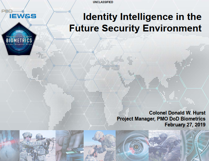 Priorities Of Identity Intelligence For Protecting National Security