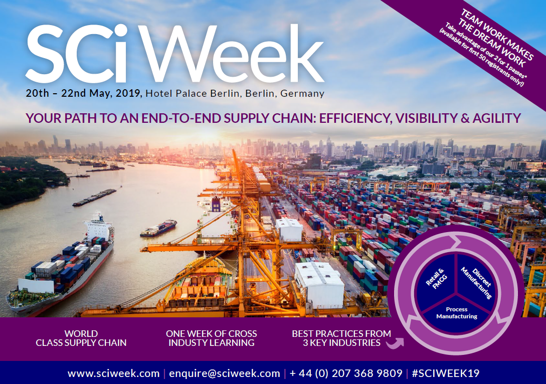 Supply Chain Industry Week Event Brochure