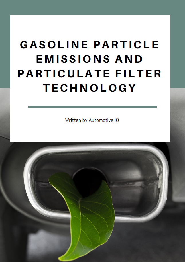 Report on Gasoline Particle Emissions and Particulate Filter Technology