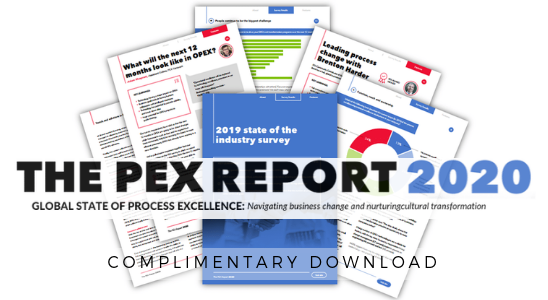 The PEX Report 2020: Global State of Process Excellence