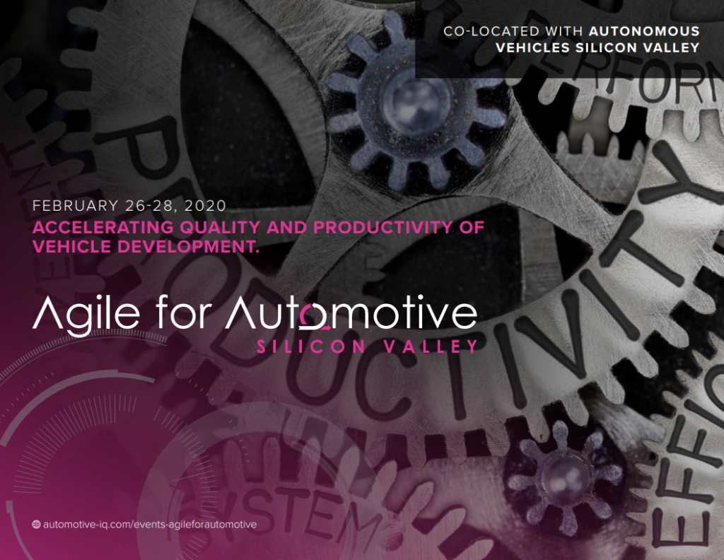 Agile for Automotive 2020