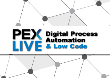 PEX Live: Digital Process Automation & Low Code Development 2021