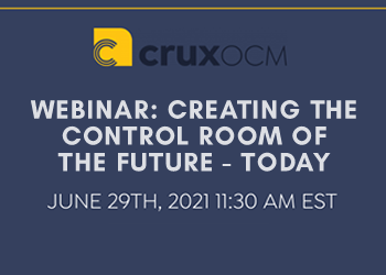 WEBINAR: Creating The Control Room of the Future - Today
